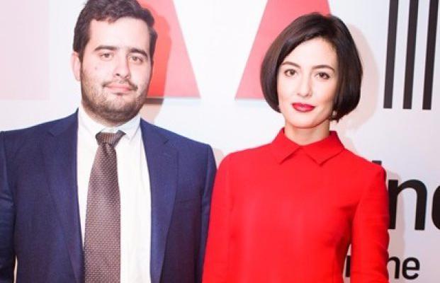 Рейдер Андрей Довбенко с женой Дарьей Заривной ─ редактором журнала L'Officiel-online