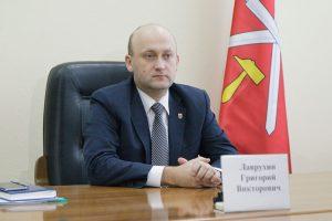 Министр экономического развития Тульской области Григорий Лаврухин