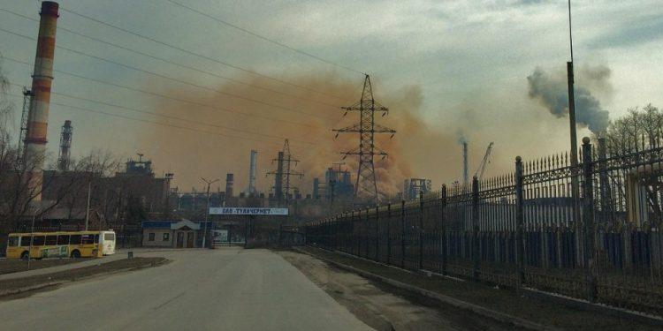 После одного из выбросов в больницу с бронхитом попали более 40 тульских детишек