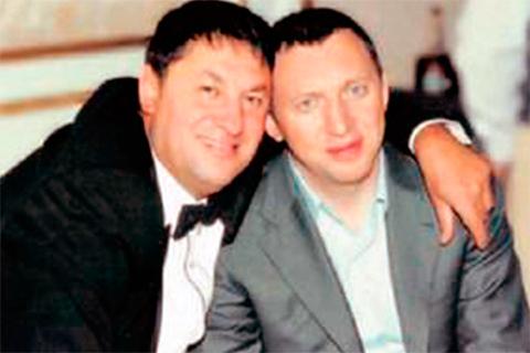 Сергей Попов и Олег Дерипаска