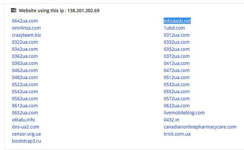 Вместо этого он «отметился» на сервере в Германии с IP-адресом 138.201.202.69.